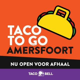 YES!! Amersfoort is nu ook open voor take away!